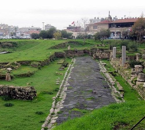 достопримечательности Тарсуса античная улица