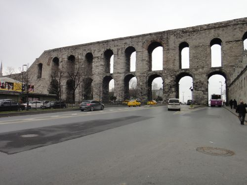 стамбул акведук валента центр
