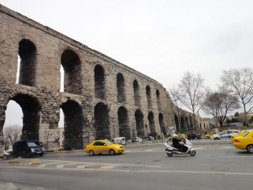 стамбул акведук валента двухэтажная часть