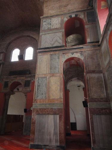 мечеть Календерхане отделка