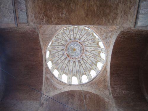 мечеть Календерхане купол с орнаментом