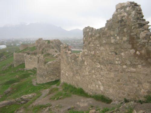 ван крепость древние стены