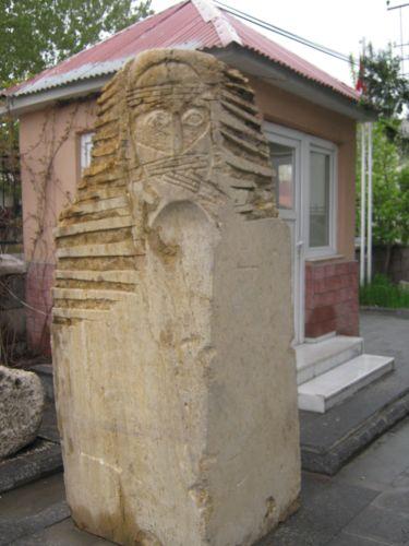 ван достопримечательности археологический музей древние стелы