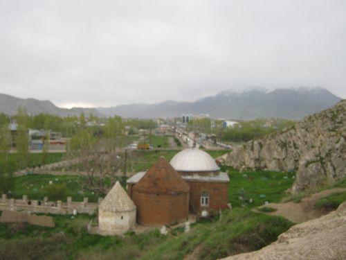 ван достопримечательности мечеть с сельджукскими гробницами