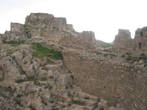 ван крепость руины