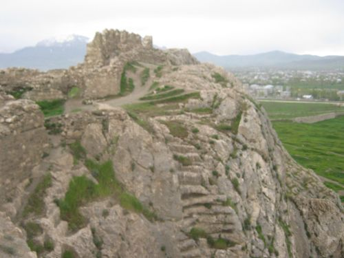 ван крепость лестница
