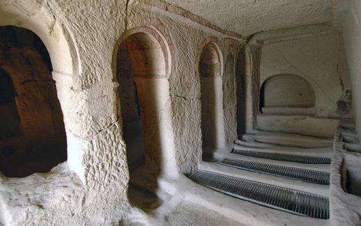 Открытый музей Гереме церковь св. василия