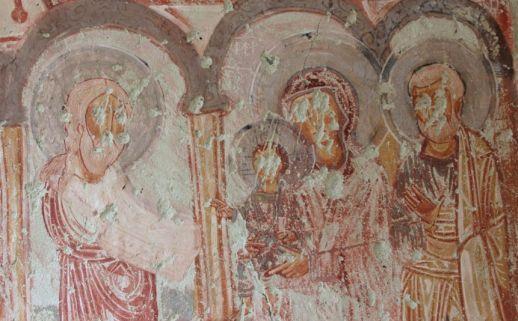 Открытый музей Гереме Девичий монастырь фрески