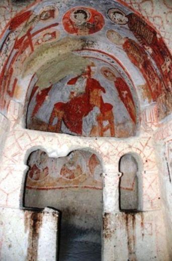 Открытый музей Гереме церковь св. Катерины