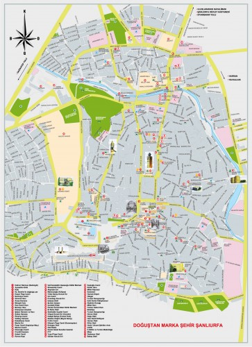 карта Шанлыурфа Турция