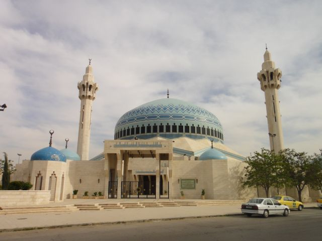 Амман Иордания Мечеть Короля Абдаллы