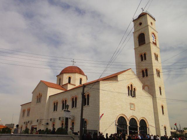 Амман пасха Иордания церковь святого Георгия