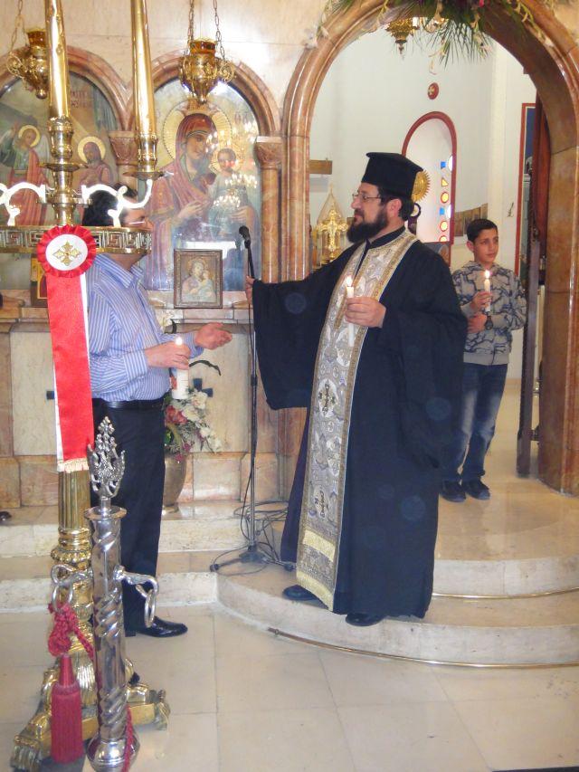 церковь святого Георгия Амман пасха Иордания