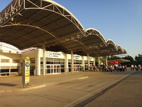 как добраться из аэропорта Антальи в центр города Калеичи, автовокзала, Коньяатлы, Лара