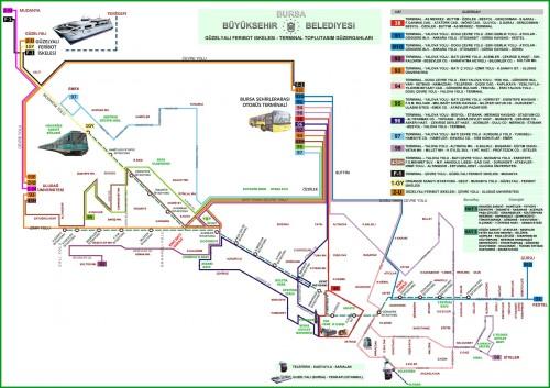 схема метро и некоторых