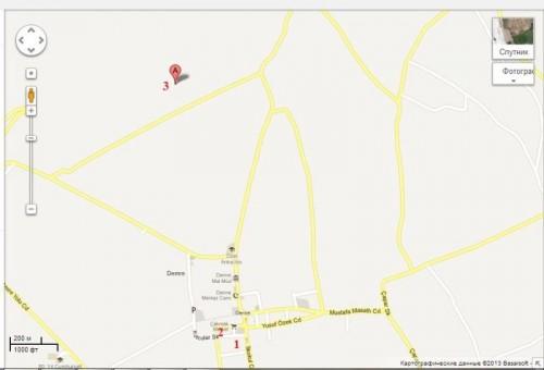 Карта Демре Мира