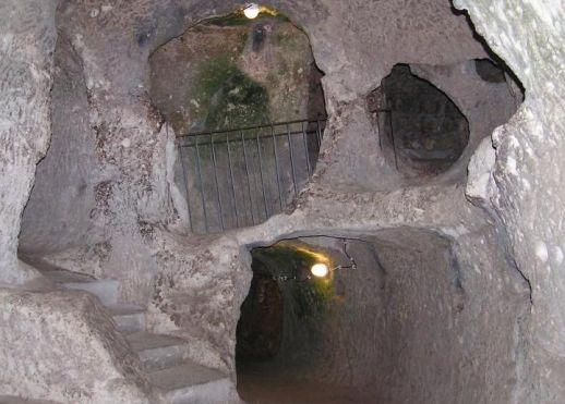 Деринкую Каппадокия Центральная Турция