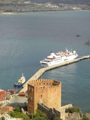 как добраться из Аланьи до Северного Кипра