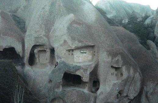 долина  Гомеда Мустафапаша Каппадокия