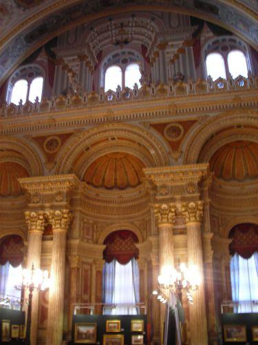 дворец долмабахче стамбул салон