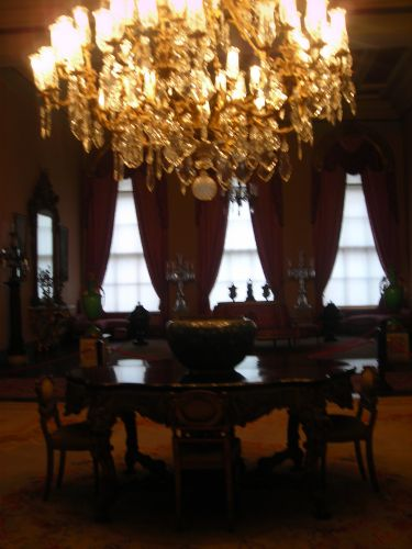 салон дворец долмабахче