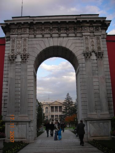 дворец долмабахче стамбул вход