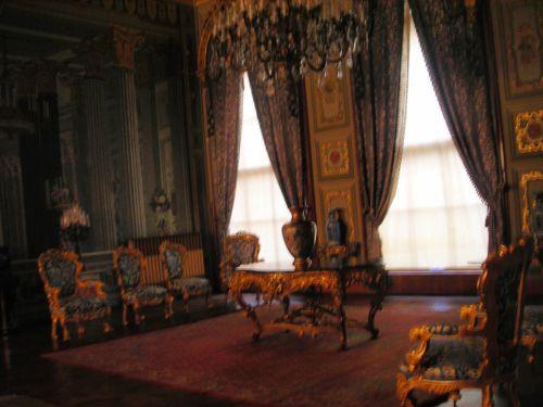 гостиная дворец долмабахче