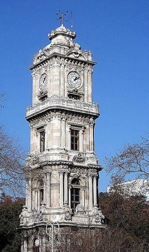 дворец долмабахче башня с часами
