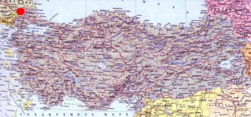 Эдирне на карте турции кликабельна
