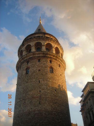 Галата башня Стамбул