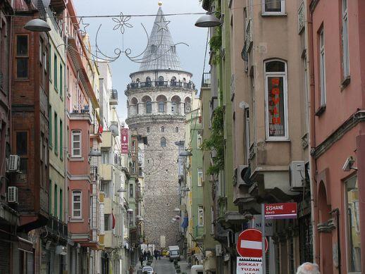 Галатская башня Стамбул Галата