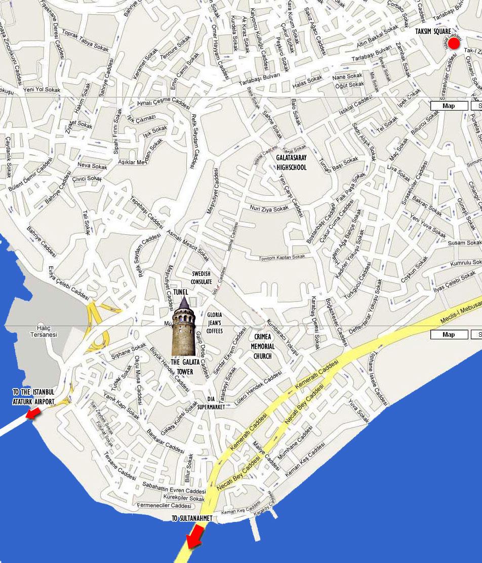 Галатская башня Стамбул Галата rfhnf
