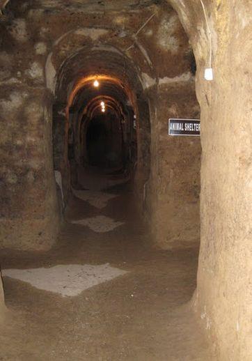 Подземный город Газиемир Каппадокия Турция