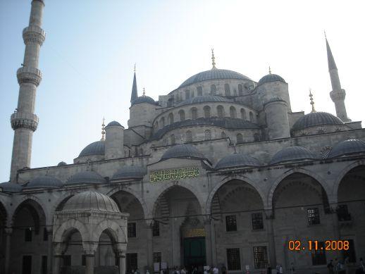 Голубая мечеть Достопримечательности Стамбула Турция