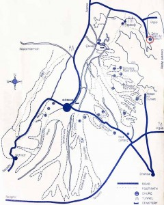 Зельве на карте Каппадокии