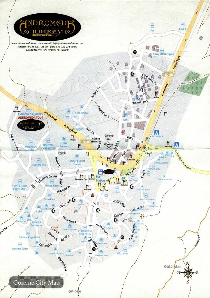карта Гереме