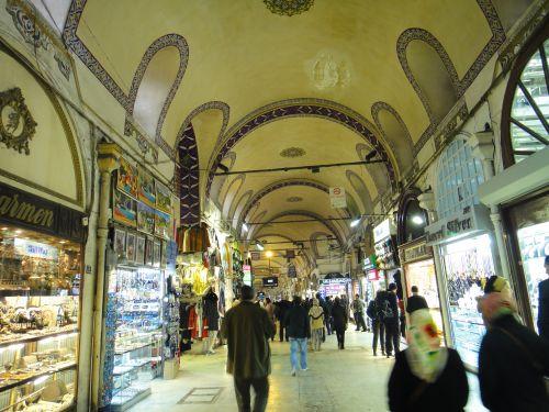 Крытый рынок Стамбул Капалы Чаршы