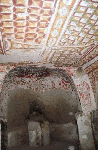 История Каппадокии фрески периода борьбы с иконописью