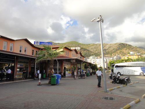 автовокзал как добраться до Аланьи