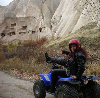 туры и экскурсии по Каппадокии на квадроцикле