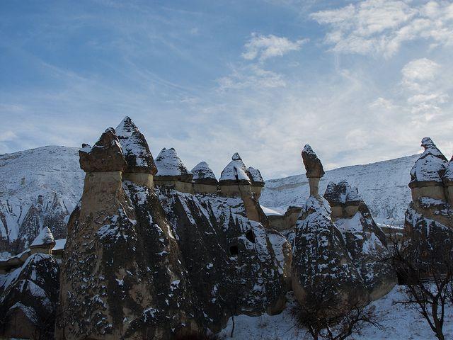 каппадокия зимой