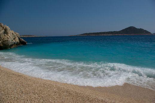 пляж Капуташ Турция