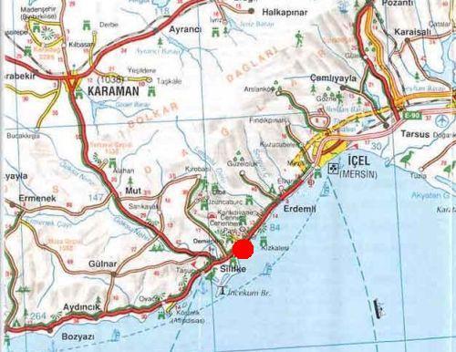где находится нарлыкую на карте турции