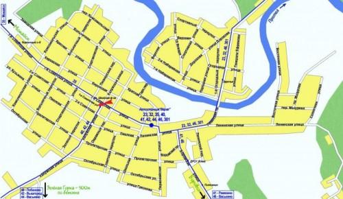 Карта Верея