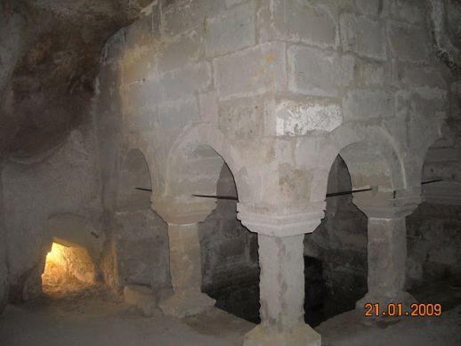 Монастырь Кешлик Каппадокия