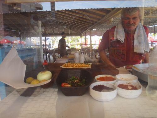 где поесть в Кызкалеси Kizkalesi