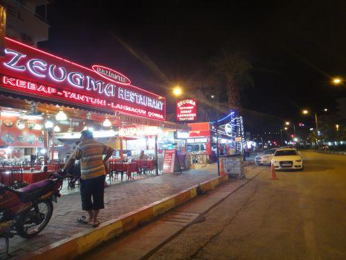 рестораны в Кызкалеси Kizkalesi