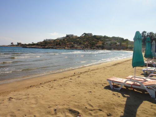 тихие пляжи в Кызкалеси Kizkalesi
