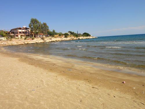 пляж на окраине Кызкалеси Kizkalesi