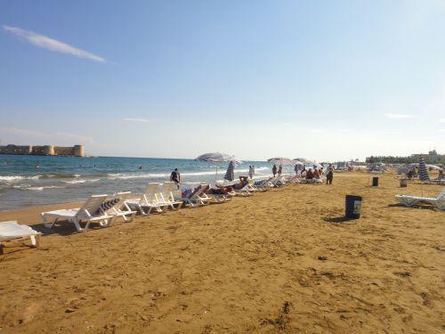 пляжи Кызкалеси Kizkalesi